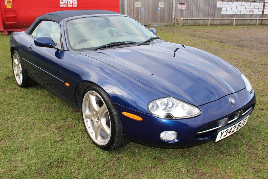 2001 jaguar xk8 convertible 4 0 v8 blue. Black Bedroom Furniture Sets. Home Design Ideas
